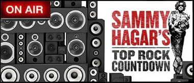 Sammy Hagar's Top Rock Countdown 7p-9p
